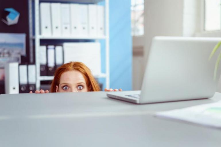 La ergofobia es un miedo irracional a ir a trabajar, que puede provocar un malestar intenso y crisis de ansiedad. Foto:123rf.com