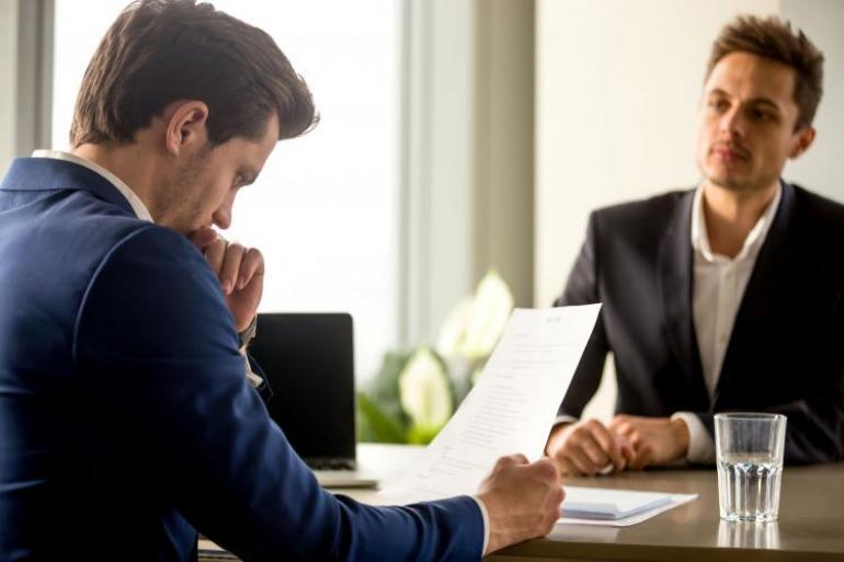 Debes ser coherente con lo que quieres transmitir al entrevistador